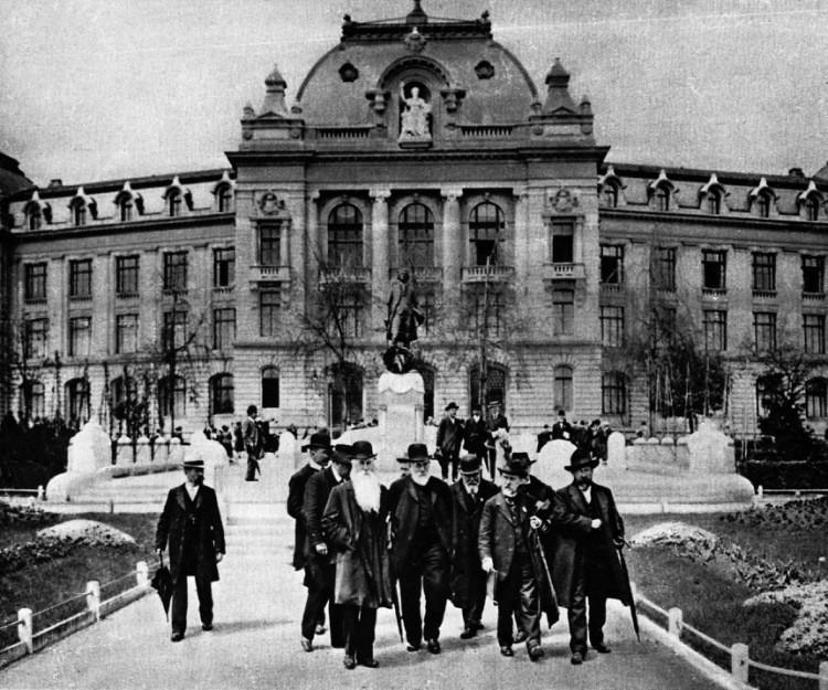 Бернская конвенция - фото в день принятия конвенции