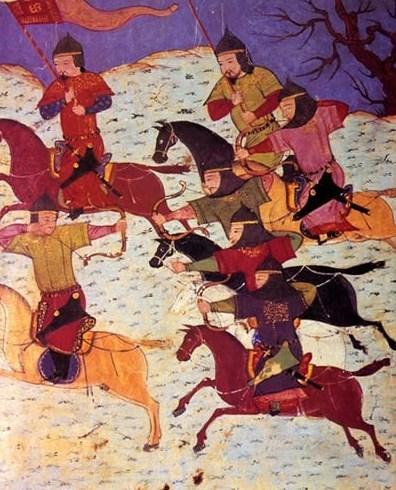 Монгольские воины