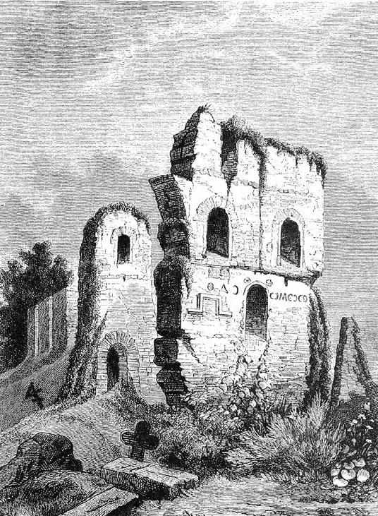 Развалины Десятинной церкви