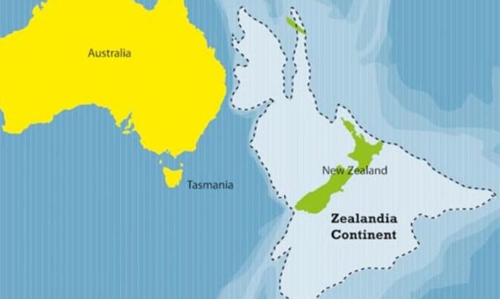 Зеландия - седьмой континент