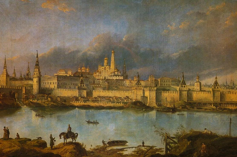 Московский Кремль во времена Петра Первого