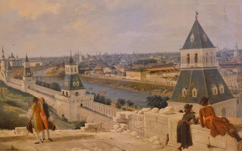 Москва при Екатерине 2
