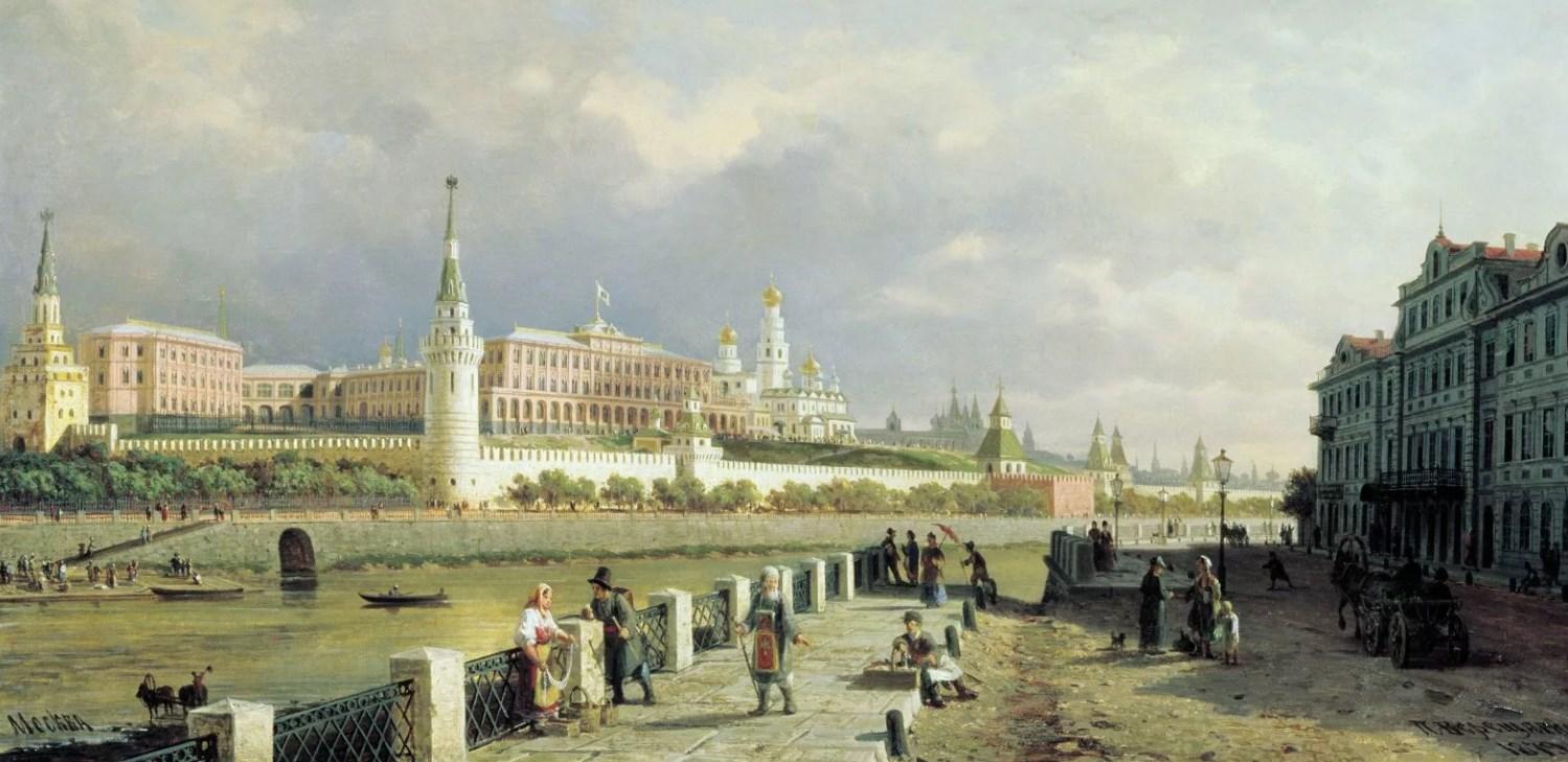 Москва времен Екатерины Второй
