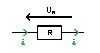 напряжение на резисторе