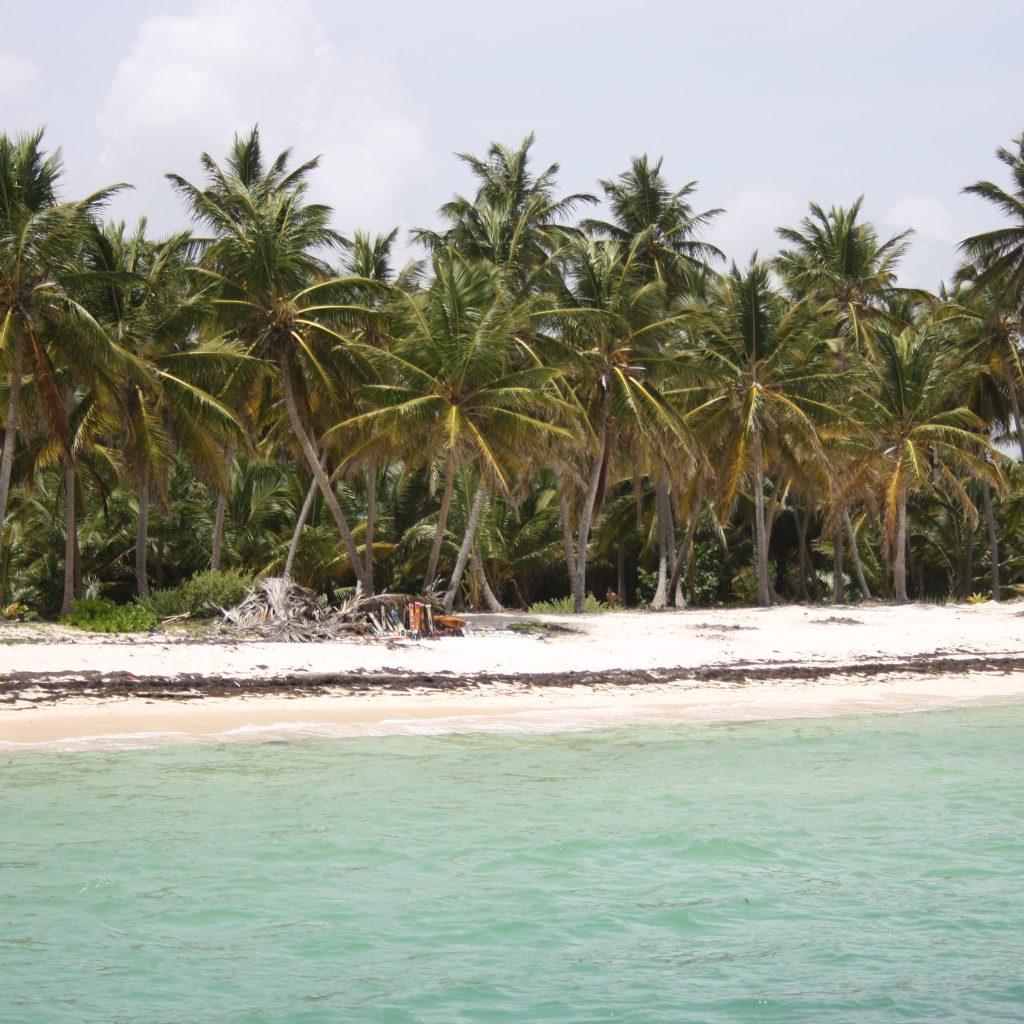 Пляж в районе Доминиканской Республики Пунта-Кана