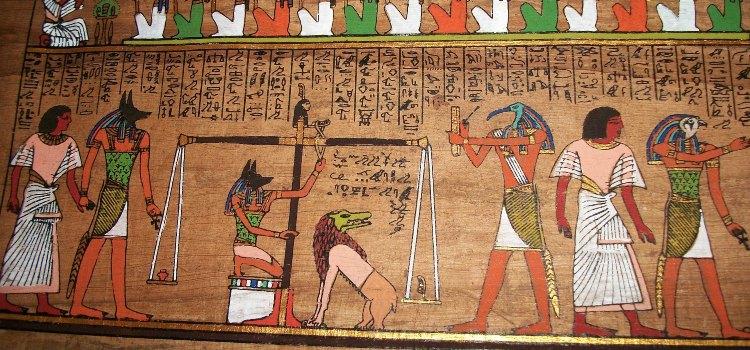 Рисунки на папирусе сохранились и до наших дней