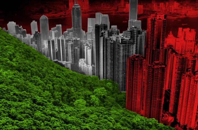 Урбанизация поглощает природу