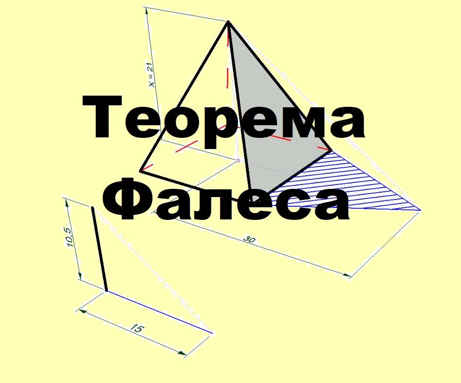 теорема фалеса