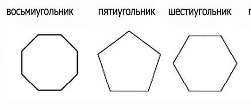 фигуры геометрии